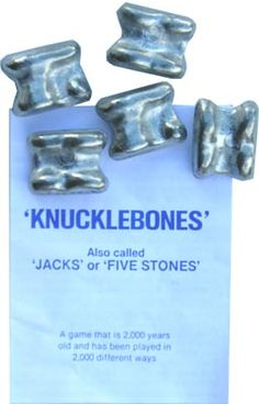 I recall playing Knucklebones at our little country school in New Zealand, well over 50 yrs ago, then my children likewise.