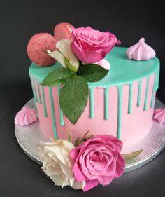 drippcake Fondant, Cake Decorations, Birthday Cake, Desserts, Food, Cake Ideas, Dessert Ideas, Wedding Pie Table, Sugar