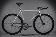 Contender - Silver : Fixies & Fixed Gear Bikes | State Bicycle Co.