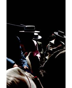 """I love high contrast lighting deep shadows darkness and geometry"" says #Madrid photographer José Luis Barcia Fernandez (@joseluisbarcia) who captured this shot in #Granada #Spain. He continues ""color is much more difficult for me."" Sometimes he finds the challenge is worth it. // #hats #steet #streetphotography #horsesofinstagram #lightandshadow #shadowplay #minimal"