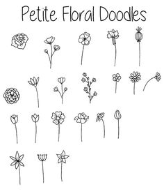 36 Simple Doodles You Can Easily Copy in Your Bullet Journal – Simple Life of a Lady Doodle Drawings, Easy Drawings, Tattoo Drawings, Tattoo Sketches, Simple Doodles Drawings, Cute Easy Doodles, Tattoos, Planner Doodles, Bujo Doodles