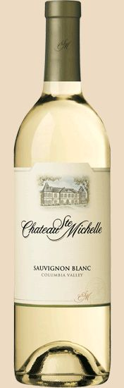wine pairing recipes with my current favorite white.  Chateau Ste. Michelle Sauvignon Blanc