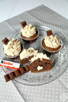 Wonderful Pieces: Saftige Kinderschokoladen-Cupcakes
