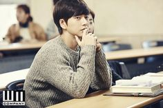 Park Hae Jin in Cheese in the Trap. Amazing drama!