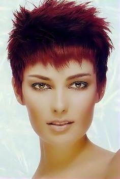 Short red hair style image 17.