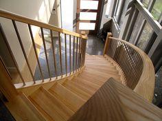 American ash staircase