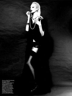 Lili Sumner by Hayley Bayliffe for Remix Magazine