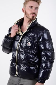 Cool Jackets, Winter Jackets, Black Down, A Good Man, Vintage Fashion, Guys, Men, Clothes, Hair