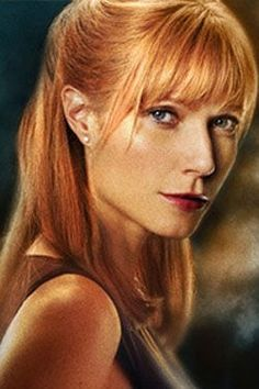 my pepper potts hair inspiration!!