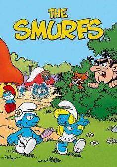 Smurfs! I loved this cartoon-