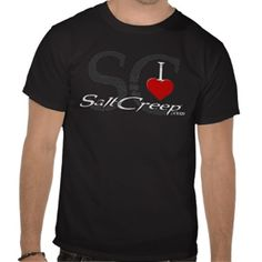 I Love SaltCreep tee.  All shirts available in many different styles and colors. www.saltcreep.com  #aquarium #tropicalfish #reef #coral #saltwater #freshwater #fish