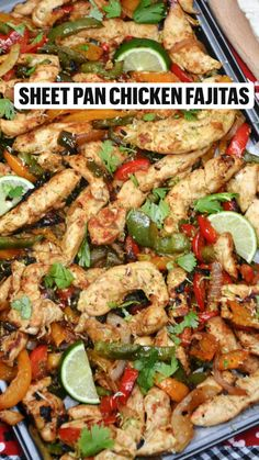 Side Dish Recipes, Dinner Recipes, Healthy Chicken Dinner, Heart Healthy Recipes, Chicken Fajitas, Weight Watchers Meals, Healthy Eating, Healthy Meals, Quick Meals