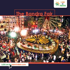 The term Bandra Fair refers to the celebrations that are connected with the annual #Feast of Our Lady of the Mount on 8th September onward, known as the Feast of the Nativity (Birth) of the Blessed Virgin Mary.  Visit http://iamnindian.com?utm_content=buffercf5f8&utm_medium=social&utm_source=pinterest.com&utm_campaign=buffer to know more interesting #facts, #festival details about the #Christianity.  #incredibleindia #mumbai #india