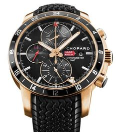 Mille Miglia GMT Chrono 2012 #Chopard 250 limited rose gold