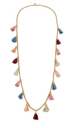 Ben-Amun Tassel Strand Necklace - Multi   SHOPBOP saved by #ShoppingIS