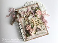 """Janin ustvarjalni vrt                                       : Dnevnik """"Sledi svojim sanjam"""" / Journal """"Follow Yo... Journal Diary, Memory Books, Dreaming Of You, Memories, Dreams, Design, Memoirs, Souvenirs, Caro Diario"""