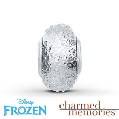 Charmed Memories Frozen Murano Glass Charm Sterling Silver