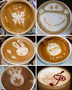 green hornet latte art