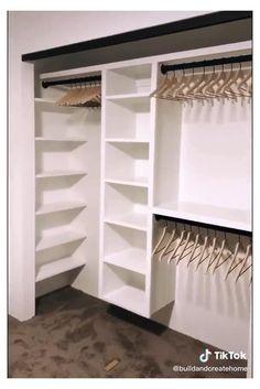 Bedroom Closet Design, Master Bedroom Closet, Closet Designs, Home Bedroom, Bedroom Decor, Wardrobe Design, Small Wardrobe, Wardrobe Closet, Bedroom Storage