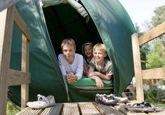 Boomtent, uniek! Gelegen midden in de prachtige Veluwe op een zeer kindvriendelijke kamping.