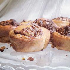 Chocolate vegan rolls
