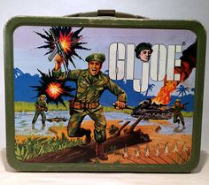 1967 GI JOE Metal Lunchbox, Got this from My Brother and used it. Everyone thought I was weird LOL
