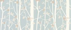 Cottonwood Duck Egg Leaf Wallpaper - Laura Ashley Like this for feature wall of master bedroom. Metallic Wallpaper, Trendy Wallpaper, Of Wallpaper, Washable Wallpaper, Bedroom Wallpaper, Duck Egg Blue Wallpaper, Wallpaper Lounge, Thistle Wallpaper, Beautiful Wallpaper