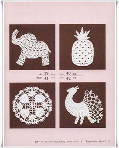 Crochet and Knitting: Вязаные аппликации (вязание крючком)