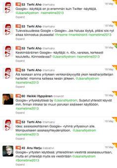 Google+ - Plussan puolella: Google+ ja yrityksen sisäinen / ulkoinen viestintä