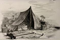 Daniel Defoe's Households for Robinson Crusoe: Hut of Crates