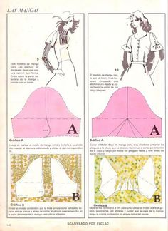 different sleeve patterns found on russian site with sewing ideas Sewing Clothes, Diy Clothes, Clothing Patterns, Sewing Patterns, Sewing Sleeves, Pattern Draping, Patron Vintage, Modelista, Dress Making Patterns
