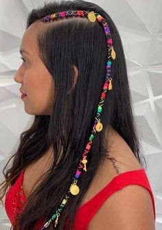 Bohemian Hairstyles, Cute Hairstyles, Braided Hairstyles, String Hair Wraps, Rainbow Hair, About Hair, Hair Videos, Box Braids, Hair Clips
