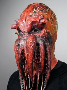 Ph'nglui mglw'nafh Cthulhu R'lyeh wgah'nagl fhtagn #cms #cinema #makeup #school #monster #spfx #special fx #cthulhu