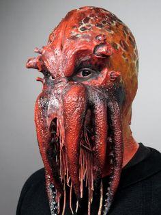 Máscara do líder dos cultistas