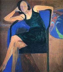 Seated Woman - Richard Diebenkorn
