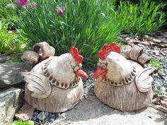Slepička / Zboží prodejce Kape | Fler.cz Clay Birds, Ceramic Birds, Ceramic Clay, Polymer Clay Recipe, Ceramic Chicken, Pottery Animals, Clay Food, Air Dry Clay, D1