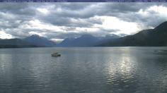 Glacier National Park, Montana- Lake McDonald Webcam View
