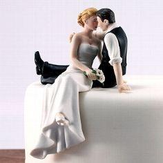 """Tortenfigur """"In Liebe"""" für die Hochzeitstorte"""