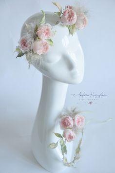 свадебные украшения для волос из шелка - Поиск в Google