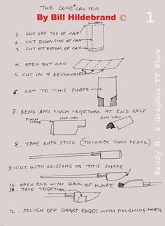 Cola Pen instructions and use