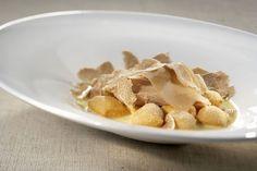 Zuppa di grissini, gallina bianca e tartufo d'Alba - ricetta inserita da Ugo Alciati