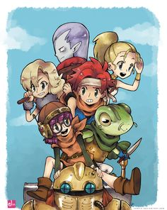 Yet another game that would have made a fantastic Saturday Morning cartoon. Chrono Trigger by ~Jumpix on deviantART