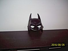 Rubie's Batman Adult Black Plastic Mask (One Size) Black One Size Halloween  #Rubies #MoldedPlastic #Halloween