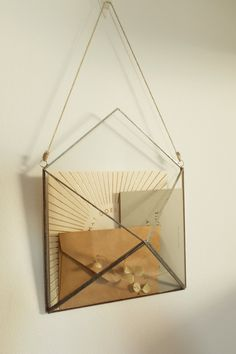 Wall Mount Mail Organizer, Modern Mail Holder, New Apartment Housewarming Gift Idea Stained Glass Projects, Stained Glass Patterns, Stained Glass Art, Modern Entryway, Entryway Decor, Hanging Mail Organizer, Silver Walls, Entryway Organization, Copper Wall