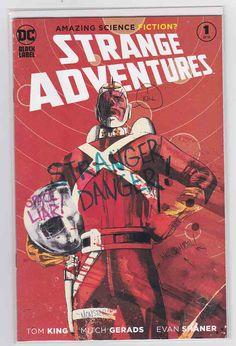Strange Adventures DC Black Label Imprint of DC Comics / Rare Comic Books Dc Comics, Free Comics, Rare Comic Books, Comic Books For Sale, Cbr, Mitch Gerads, Adam Strange, Kindle, Toms