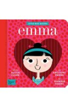 Step into the drama filled world of Jane Austen's Emma: A BabyLit® Emotions Primer. Your little one will learn about the meddling Emma Woodhouse, who takes it upon herself to become the village matchm Jane Austen, Wizard Of Oz Book, Emma Woodhouse, Baby List, Classic Literature, Child Love, Baby Boutique, Kids Learning, How To Introduce Yourself