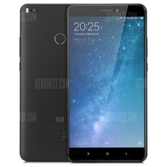 🏷️🐼 Xiaomi Mi Max 2 4G Phablet - GLOBAL VERSION 4GB RAM 64GB ROM BLACK - 187.67€      #BonsPlans, #Deals, #Discount, #Gearbest, #Promotions, #Réduc, #Xiaomi