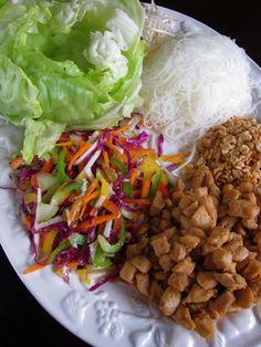 Rain Forest Cafe Lettuce wraps,yummm