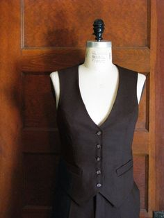 Custom Vest and Pant SuitsMuslin Fit by VigilanteLabs on Etsy, $625.00