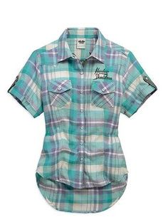 Check shirt for summer!